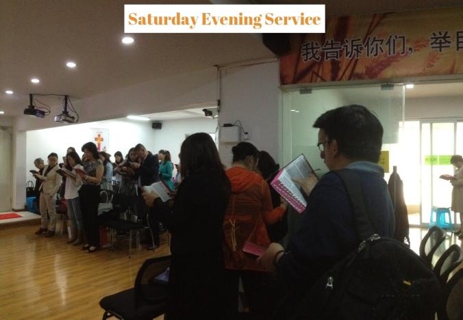 Saturday Service 2